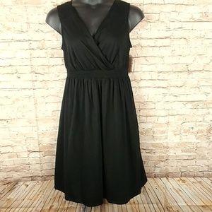 Faded Glory Black Size 16w Midi Dress